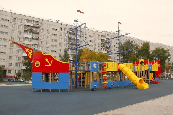 Новый детский комплекс получил название «Бригантина»