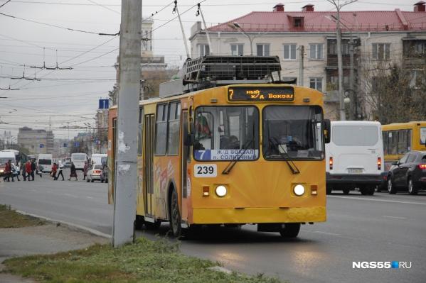 Омский троллейбус теперь самый безопасный за Уралом