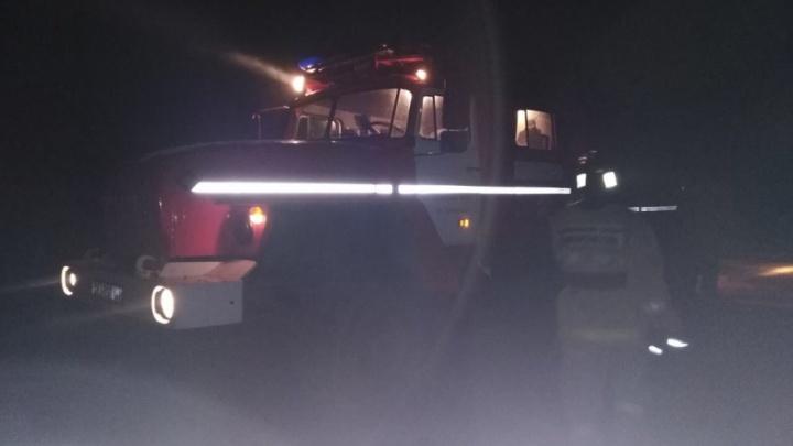 Ночью в Башкирии сгорел частный дом: погибли мать и сын
