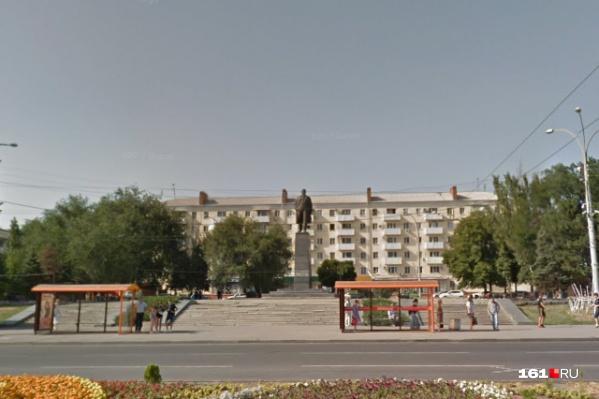 Площадь Ленина пообещали привести в порядок