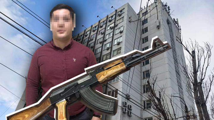 Стрельба по приятному поводу. Где работает «офисный стрелок» из Волгограда и почему ему за это ничего не будет?