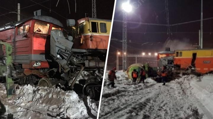 В Самарской области работников «РЖД» оштрафовали за столкновение снегоуборщика и товарняка
