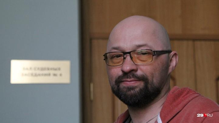 Из больницы в суд: архангельского активиста Дмитрия Секушина оштрафовали еще на 200 тысяч за митинг