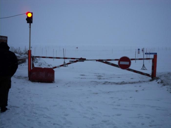 Ледовые переправы работают с сегодняшнего дня