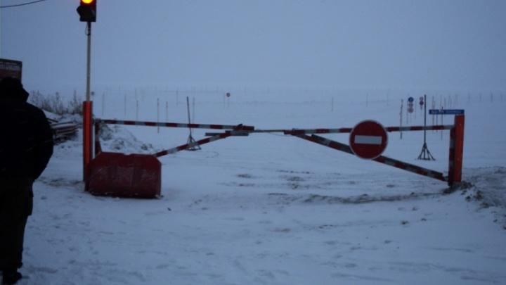 На Обском море заработали ледовые переправы