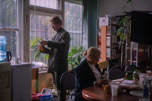 Фильм снимали в Екатеринбурге
