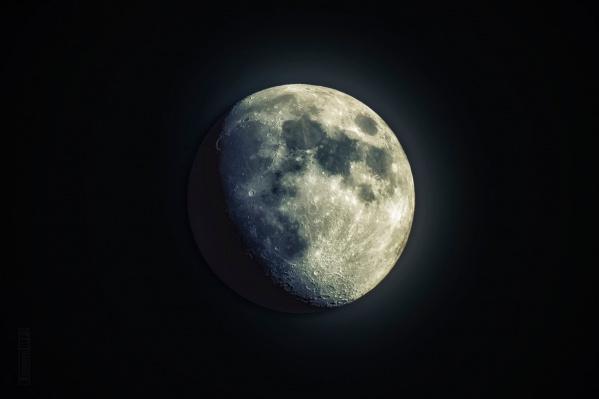 У Луны потемнеет нижний край