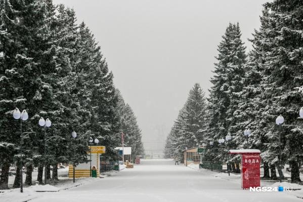 Зимние холода придут в середине ноября