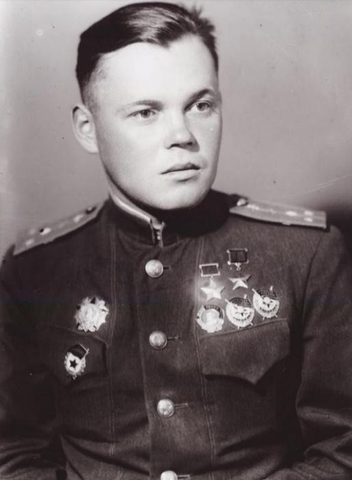 Речкалов в 1944 году