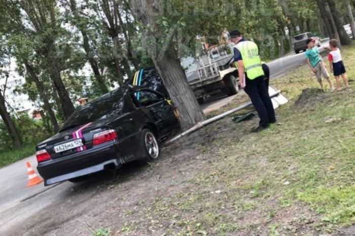 Авария с пострадавшими произошла днём 28 июля в Ачинске на ул. Строителей, сообщили в ГИБДД