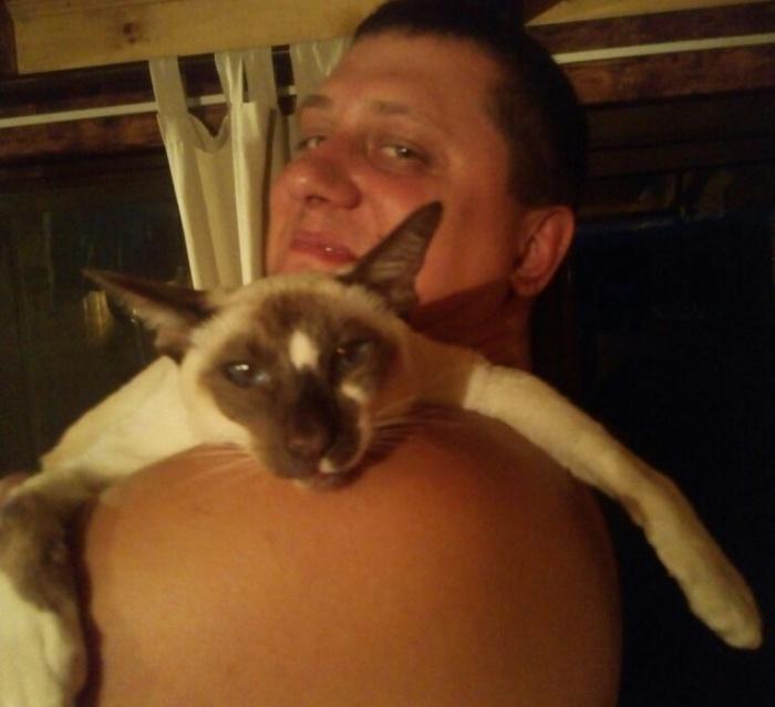 Виталий и его умерший кот Бося