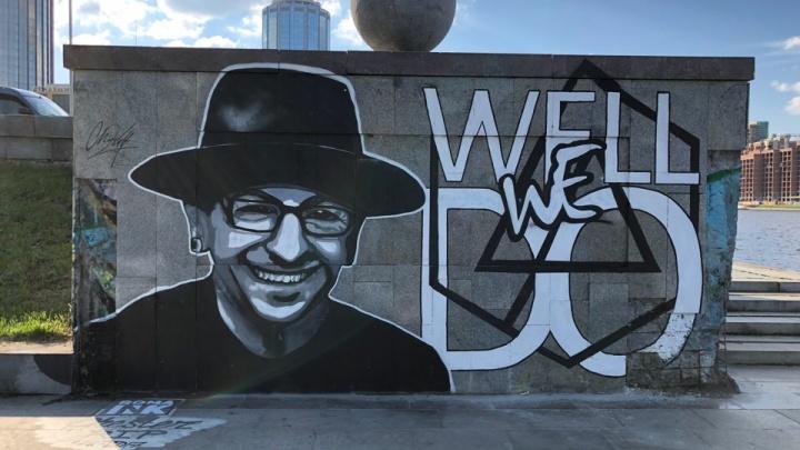 Вокалист Linkin Park оценил екатеринбургский граффити-портрет погибшего солиста Честера Беннингтона
