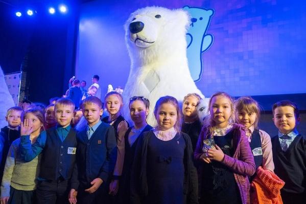 Конкурс посвящён животным северных территорий Красноярского края и символу Арктики — белому медведю