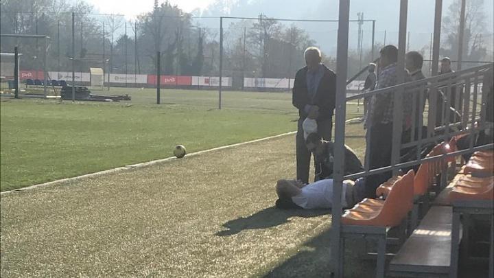 Врачи футбольного клуба «Уфа» спасли жизнь человеку