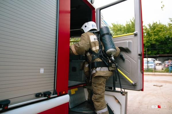 Пожарных отправили по повышенному рангу вызова