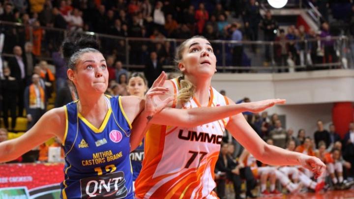 Баскетболистки УГМК одержали седьмую победу подряд, обыграв соперниц из Бельгии
