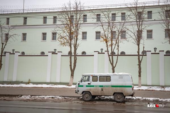 Подозреваемого поместили в изолятор временного содержания