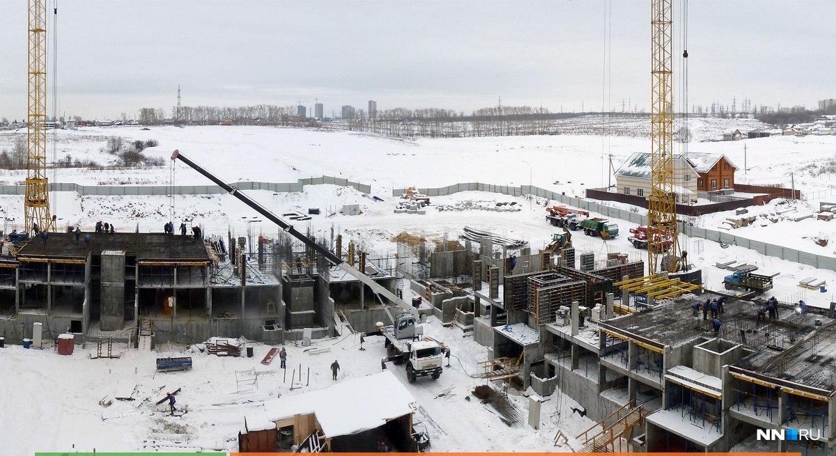 «Новая Кузнечиха» только начала строиться