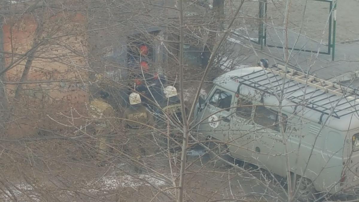 Происшествие во дворах на Забалуева и Невельского