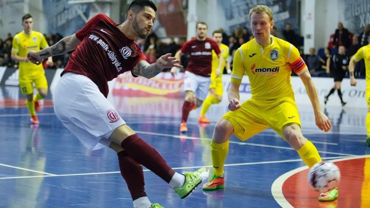 Мини-футбол: «Сибиряк» нанёс поражение «Новой генерации»