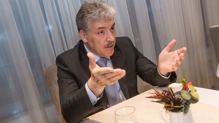 Павел Грудинин:«Губернатору лучше делом бы заняться, а не сносом памятника Ленину»
