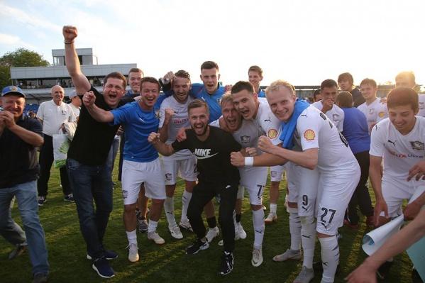 ФК «Чайка» вышел во вторую по статусу лигу отечественного футбола