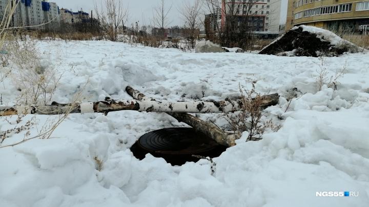У вас люк не видно: выясняем, кому сообщать об открытых колодцах в Омске