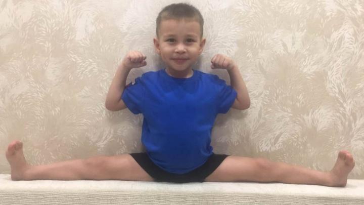 Три удара в секунду: 4-летний новосибирец поставил рекорд по опасным ударам кулаками