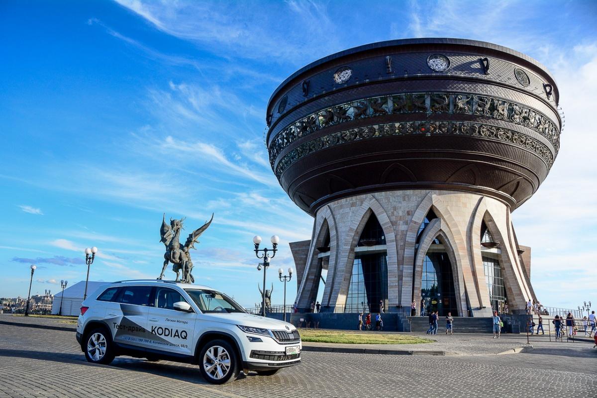 Центр семьи «Казан» — главный Дворец бракосочетания в Казани