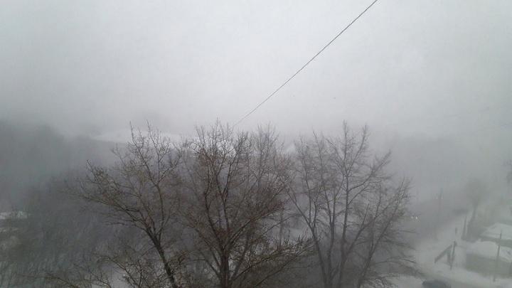Сильный ветер, метель, гололедица: непогода в Челябинской области задержится ещё на сутки