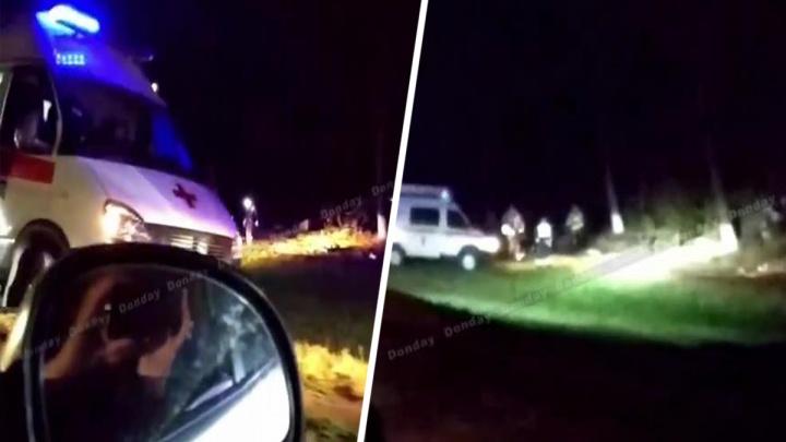 В Ростовской области машина вылетела в кювет. Погибла девушка