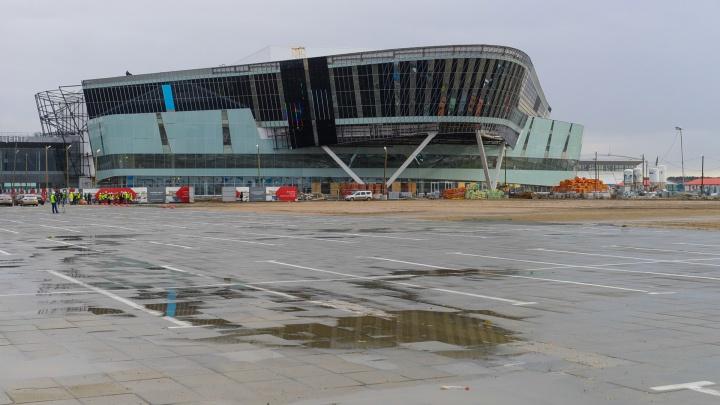 Уральский «Крокус Сити Холл»: гуляем по стройке конгресс-центра, где будут выступать мировые звезды