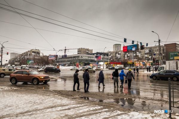 Под конец рабочей недели в Новосибирске потеплеет до нуля, но будет дуть сильный ветер — в порывах до 22 м/с