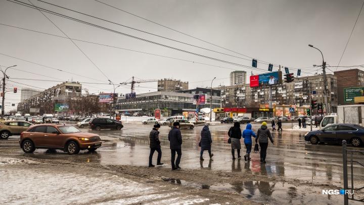 Снежные заносы и потепление до нуля: новосибирцев снова ждёт сложная погода
