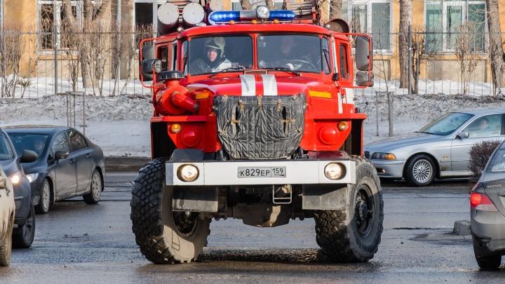 «Оставили без присмотра обогреватель». В здании Минюста Прикамья произошел пожар