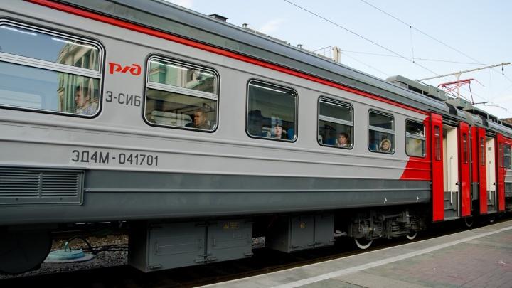 Новосибирские электрички поменяют расписание из-за ремонта путей