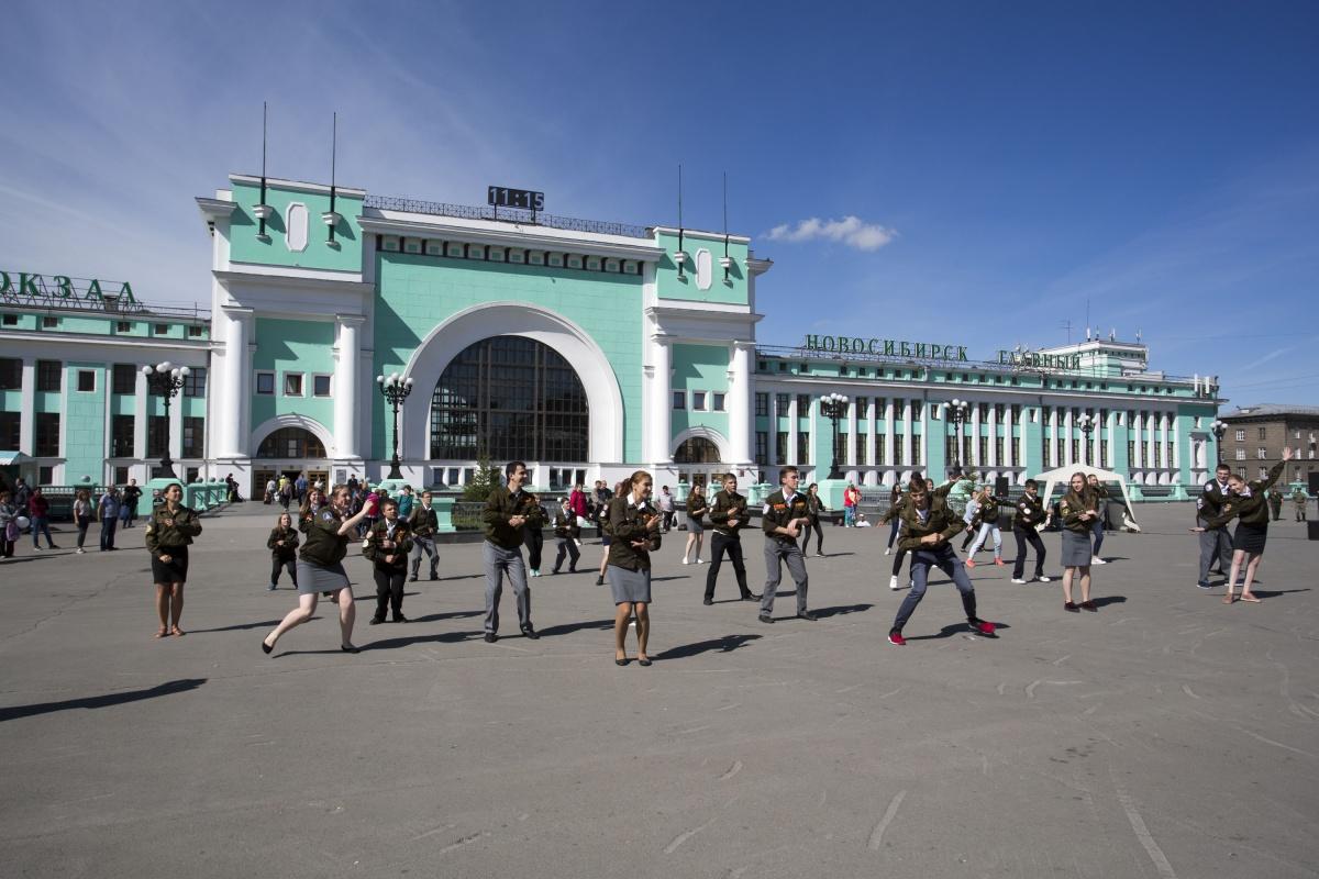 Студенты-проводники устроят вЕкатеринбурге всероссийский флешмоб