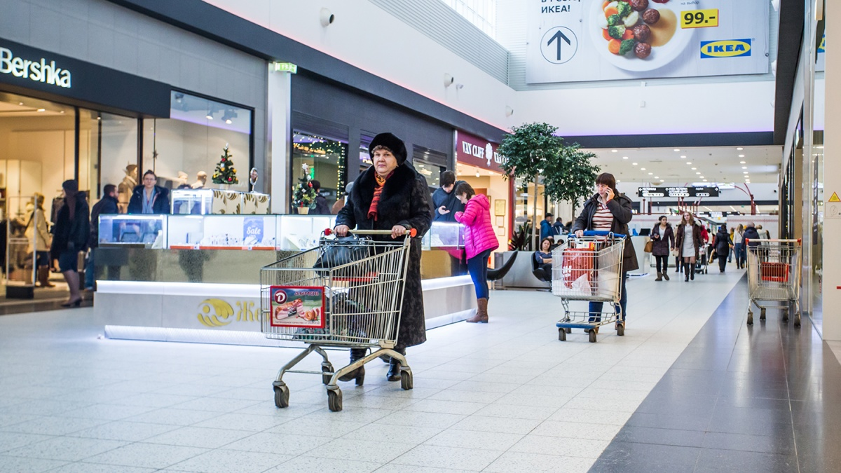 Число посетителей новосибирских ТЦ заметно выросло даже по сравнению с прошлым Новым годом