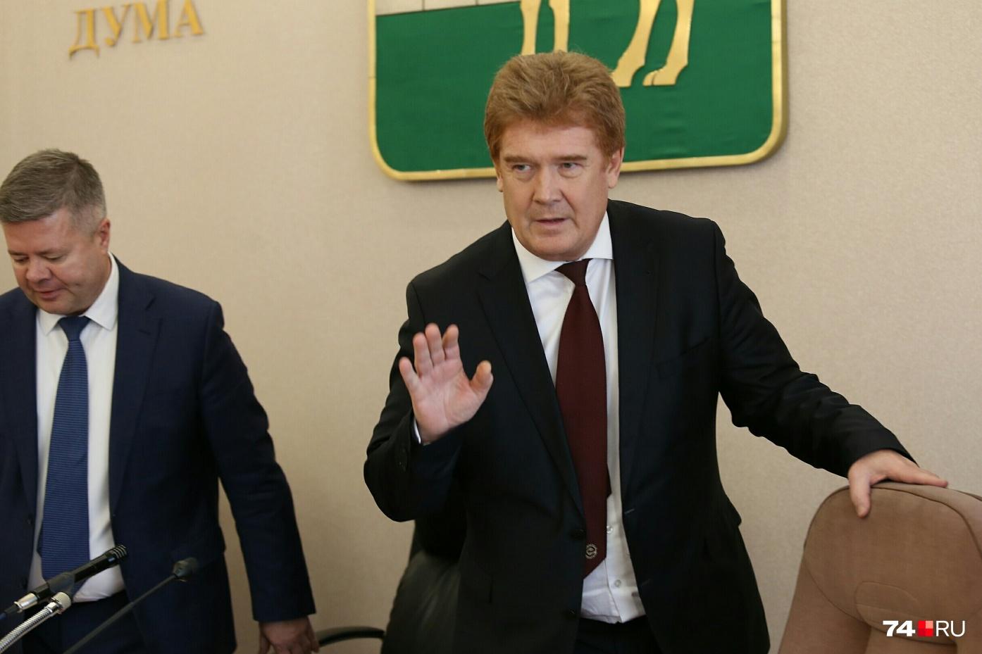 Владимир Елистратов стал самым «кратковременным» мэром Челябинска...