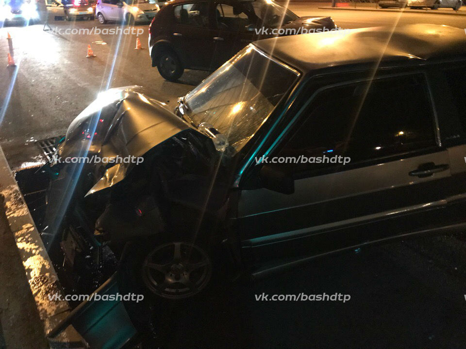 Кроме водителя и пассажира ВАЗа, никто не пострадал