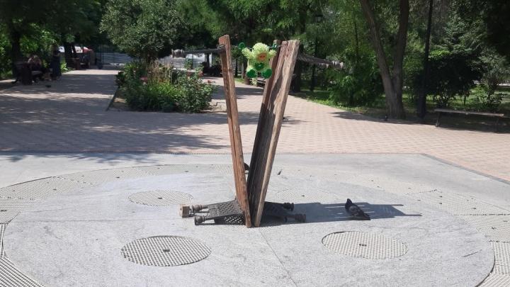 «Его не замечают в упор»: в самом благоустроенном парке Волгограда пересыхает новый фонтан