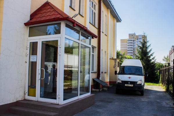 Новое отделение открылось в одном из корпусов инфекционной больницы на улице Семьи Шамшиных