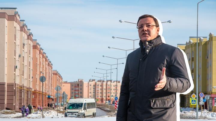 Азаров остановил процедуру включения Южного города в состав Самары