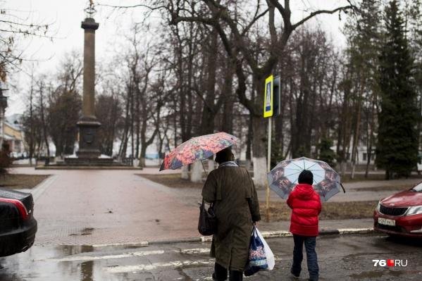 Дожди в Ярославле начнутся завтра