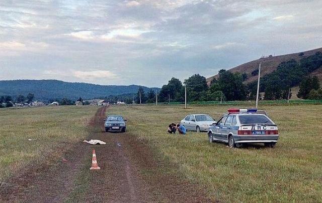 Смертельное ДТП в Башкирии: ищут машину, задавившую пешехода в поле