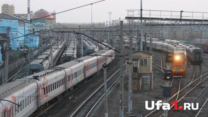 В Башкирии женщину переехал поезд