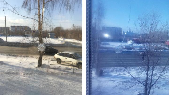 «Стреляли и смеялись»: в городе Челябинской области хулиганы разбили окна пятиэтажек