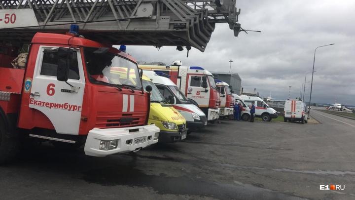 Самолет из Санкт-Петербурга начал готовиться к аварийной посадке в Кольцово