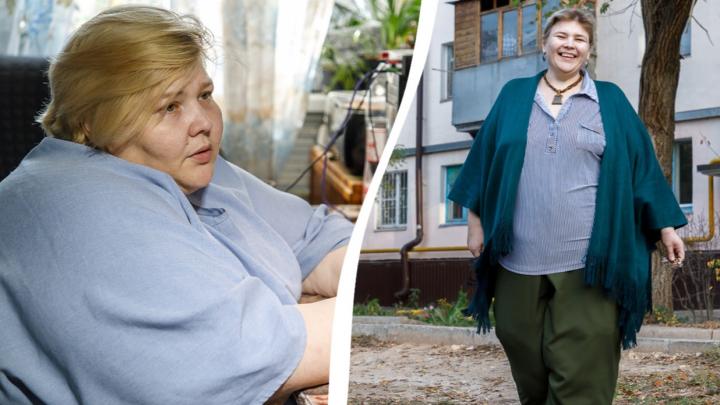 «Если бы не похудела, уже не сидела бы тут»: самая толстая женщина России заново научилась ходить