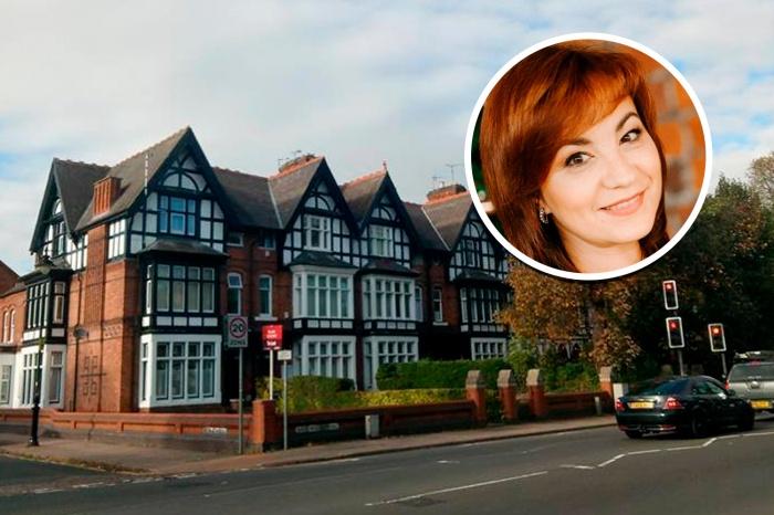Оксана Кеш теперь живёт в таком типичном британском домике